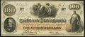 Confederate Notes:1862 Issues, T41 $100 1862 PF-16 Cr. 320 About Uncirculated.. ...