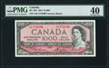 Canadian Currency, BC-44d $1000 1954 PMG Extremely Fine 40.. ...
