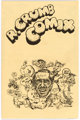 Robert Crumb and Michael H. Price R. Crumb Comix Correspondence and Production Materials Group of 2 Binders ... (Total:...