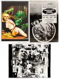 Memorabilia:Books, Horror Movie Posters Grab Bag, Including:The Return of CountYorga, The Beast Must Die, and Others Gro... (Total: 5 )