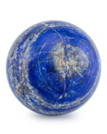 Lapidary Art:Eggs and Spheres, Lapis Sphere. Afghanistan. 4.25 inches (10.79 cm) indiameter. ...
