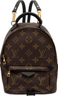 """Luxury Accessories:Bags, Louis Vuitton Palm Springs Mini Backpack . Condition: 1. 6"""" Width x 8.5"""" Height x 3.5"""" Depth. ..."""