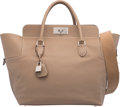 """Luxury Accessories:Bags, Hermès 33cm Etoupe Swift Leather Toolbox Bag with Palladium Hardware. T, 2015. Condition: 3. 13"""" Width x 14"""" Heigh..."""