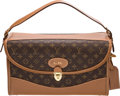 """Luxury Accessories:Travel/Trunks, Louis Vuitton Brown Monogram Coated Canvas Vanity Case by Lena Horne. Condition: 4. 15.5"""" Width x 8.5"""" Height x 8.5"""" D..."""