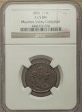 1806 1/2 C Small 6, No Stems Fine 15 NGC. Ex: Maumee Valley Collection. NGC Census: (0/0). PCGS Population: (17/755). Mi...