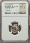 Ancients:Ancient Lots  , Ancients: ANCIENT LOTS. Roman Imperial. Ca. AD 222-249. Lot of four(4) AR denarii. NGC VF-XF.... (Total: 4 coins)