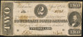 Confederate Notes:1863 Issues, T61 $2 1863 PF-7 Cr. 473 Very Good-Fine.. ...