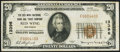 National Bank Notes:Minnesota, Red Wing, MN - $20 1929 Ty. 1 The Red Wing NB & TC Ch. # 13396....
