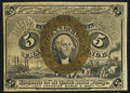 Fractional Currency:Second Issue, Fr. 1232 5¢ Second Issue Choice About New.. ...