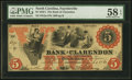 Obsoletes By State:North Carolina, Fayetteville, NC - Bank of Clarendon $5 Aug. 1, 1861 G2a Pennell 450A Wismer #65. ...
