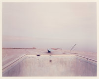 Richard Misrach (American, b. 1949) Diving Board, Salton Sea, 1983 Dye coupler, 1987 26-1/8 x 33-