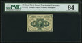 Fractional Currency:First Issue, Fr. 1243 10¢ First Issue PMG Choice Uncirculated 64.. ...