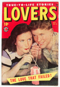Golden Age (1938-1955):Romance, Lovers #23 (Atlas, 1949) Condition: FN....
