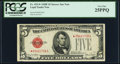 Small Size:Legal Tender Notes, Fr. 1531* $5 1928F Narrow Legal Tender Note. PCGS Very Fine 25PPQ.. ...
