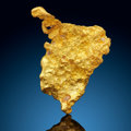 Minerals:Golds, Gold Nugget. Bendigo Goldfields,. City of Greater Bendigo. Victoria, Australia. ...