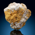 Minerals:Golds, Crystallized Gold on Quartz. Alleghany, Alleghany District (Forest District). Sierra Co.. California, USA. ...