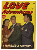 "Golden Age (1938-1955):Romance, Love Adventures #1 Davis Crippen (""D"" Copy) pedigree (Marvel/Atlas,1949) Condition: FN/VF...."