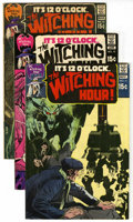 Bronze Age (1970-1979):Horror, Witching Hour Group (DC, 1970-72) Condition: Average VF.... (Total:9)