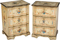 A Pair of Swedish Paint-Decorated Side Chests, 19th century and later 32-1/4 x 23-3/4 x 17-1/4 inches (81.9 x 60.3