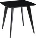 Furniture : American, A Thonet of America Painted Wood Table Attributed to Hans Bellmann,20th century. Marks: (Thonet label to underside). 30 x 2...