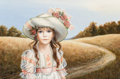 Fine Art - Painting, American, Pati Bannister (American, 1929-2013). Molly. Oil on panel.20 x 30 inches (50.8 x 76.2 cm). Signed lower right:Bannis...