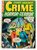 Golden Age (1938-1955):Crime, Fight Against Crime #18 (Story Comics, 1954) Condition: FR/GD....