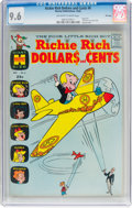 Silver Age (1956-1969):Humor, Richie Rich Dollars and Cents #6 File Copy (Harvey, 1964) CGC NM+ 9.6 Off-white to white pages....