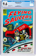 Silver Age (1956-1969):Science Fiction, Flying Saucers #2 (Dell, 1967) CGC NM+ 9.6 Off-white to white pages....