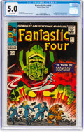Silver Age (1956-1969):Superhero, Fantastic Four #49 (Marvel, 1966) CGC VG/FN 5.0 Off-white pages....