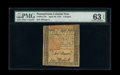 Colonial Notes:Pennsylvania, Pennsylvania April 10, 1775 £5 PMG Choice Uncirculated 63 EPQ.. ...