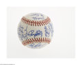 Autographs:Baseballs, 1989 San Francisco Giants Team Signed Baseball. Thirty-fourexceptional ink signatures on an ONL (White) ball include Clark...
