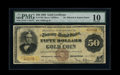 Large Size:Gold Certificates, Fr. 1188 $50 1882 Gold Certificate PMG Very Good 10....