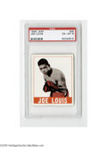 Boxing Cards, 1948 Leaf Joe Louis #48 PSA EX-MT 6. Strong example from thispopular set....