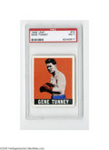 Boxing Cards, 1948 Leaf Gene Tunney #73 PSA NM 7. Strong example from this popular set....