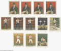 Boxing Cards, Circa 1910 Mecca & Tolstoi Boxing and More Cards Lot of 123.Neat assortment of mainly boxing cards, with some other sports...