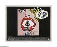 "99 and 44/100% Dead (20th Century Fox, 1974) Half Sheet (22"" X 28""). This is a vintage, theater used poster fo..."