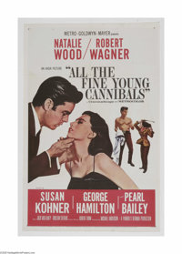 """All the Fine Young Cannibals (MGM, 1960) One Sheet (27"""" X 41""""). This is a vintage, theater used poster for thi..."""