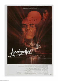 """Apocalypse Now (United Artists, 1979) One Sheet (27"""" X 41""""). This is an original release vintage, theater used..."""