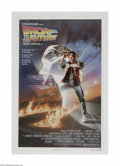 "Movie Posters:Science Fiction, Back to the Future (Universal, 1985) One Sheet (27"" X 41""). This isa vintage, theater used poster for this sci-fi comedy th..."