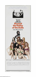 """Movie Posters:Bad Girl, Beyond the Valley of the Dolls (Twentieth Century Fox, 1970) Insert(14"""" X 36""""). This is a vintage, theater used poster for ..."""