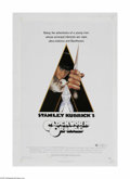"Movie Posters:Drama, Clockwork Orange (Warner Brothers, 1971) One Sheet (27"" X 41""). This is a vintage, theater used poster for this famous crime..."
