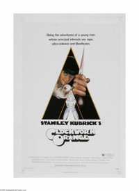 """Clockwork Orange (Warner Brothers, 1971) One Sheet (27"""" X 41""""). This is a vintage, theater used poster for thi..."""