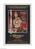"Movie Posters:Action, Conan, the Destroyer (Universal, 1984) One Sheet (27"" X 41""). This is a vintage, theater used poster for this fantasy-advent..."
