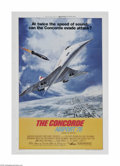 "Movie Posters:Adventure, The Concorde: Airport '79 (Universal, 1979) One Sheet (27"" X 41""). This is a vintage, theater used poster for this adventure..."