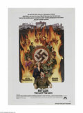 """Movie Posters:War, Hitler: The Last Ten Days (Paramount, 1973) One Sheet (27"""" X 41"""").This is a vintage, theater used poster for this war drama..."""