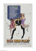 "Movie Posters:Adventure, Our Man Flint (20th Century Fox, 1966) One Sheet (27"" X 41""). Thisis a vintage, theater used poster for this famous comedic..."