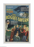 "Movie Posters:Horror, The Rogues Tavern (Puritan Pictures, 1936) One Sheet (27"" X 41""). This is a vintage, theater used poster for this horror/mys..."