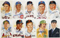 Autographs:Post Cards, Baseball Hall of Famers Signed Perez-Steele Postcards Lot of 10.This collection of postcards from the vaunted Perez-Steele...