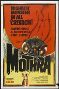 """Movie Posters:Science Fiction, Mothra (Columbia, 1962). One Sheet (27"""" X 41""""). Science Fiction...."""
