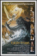 "Movie Posters:Fantasy, Clash of the Titans (MGM, 1981). One Sheet (27"" X 41"") Advance. Fantasy...."
